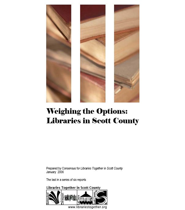 Weighing Options In Scott County